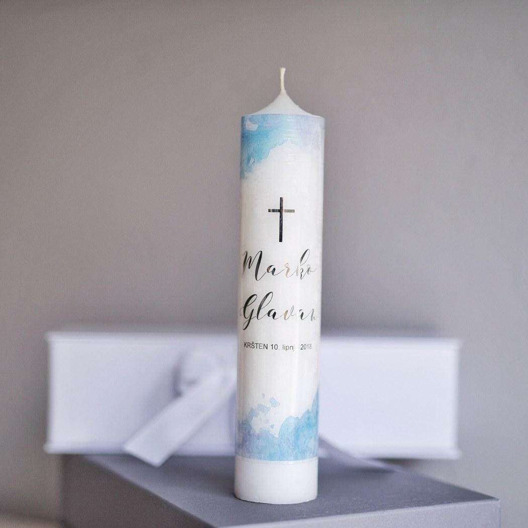 krsna svijeća s imenom