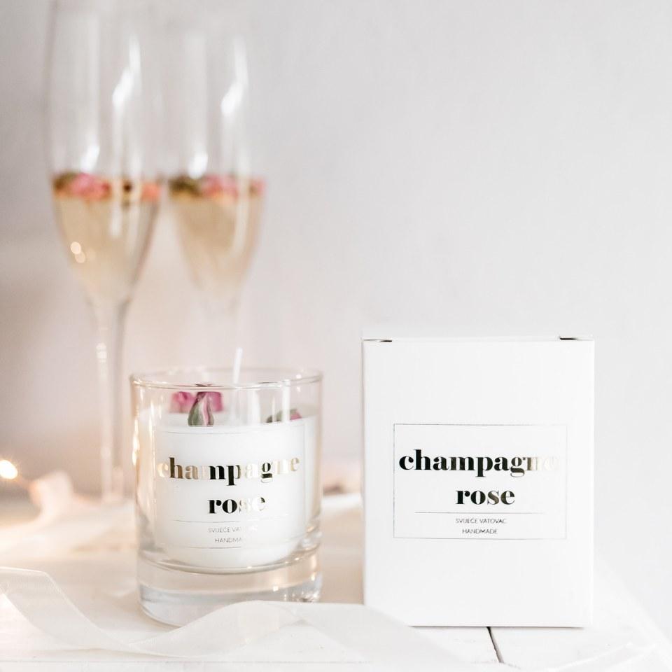 mirisna-svijeca-šampanjac