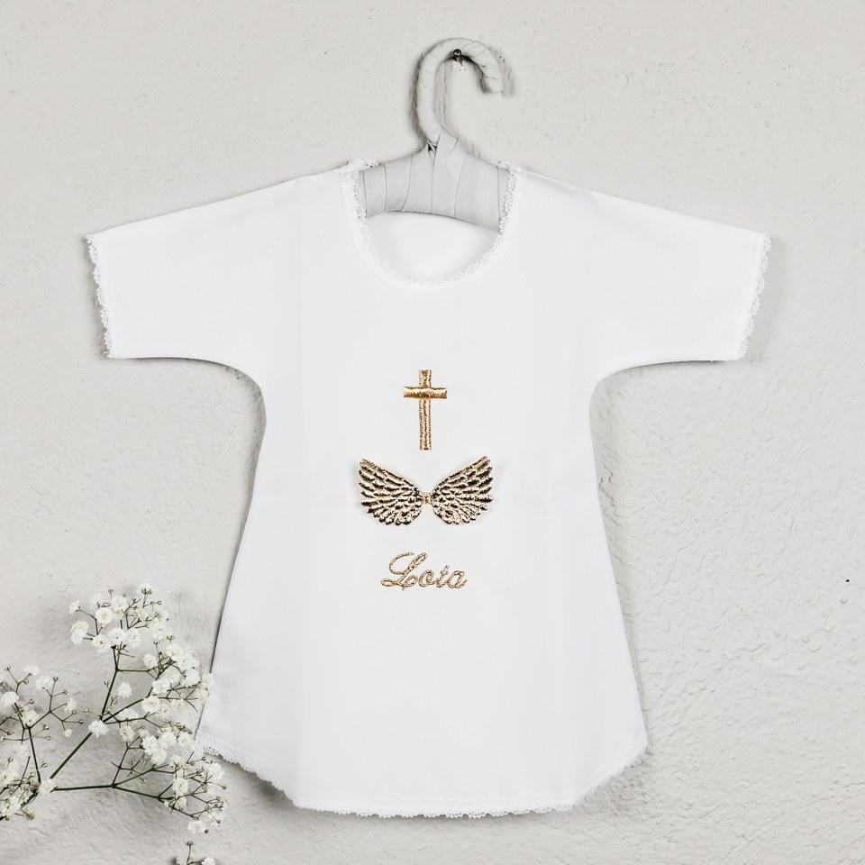 krsna košuljica sa imenom