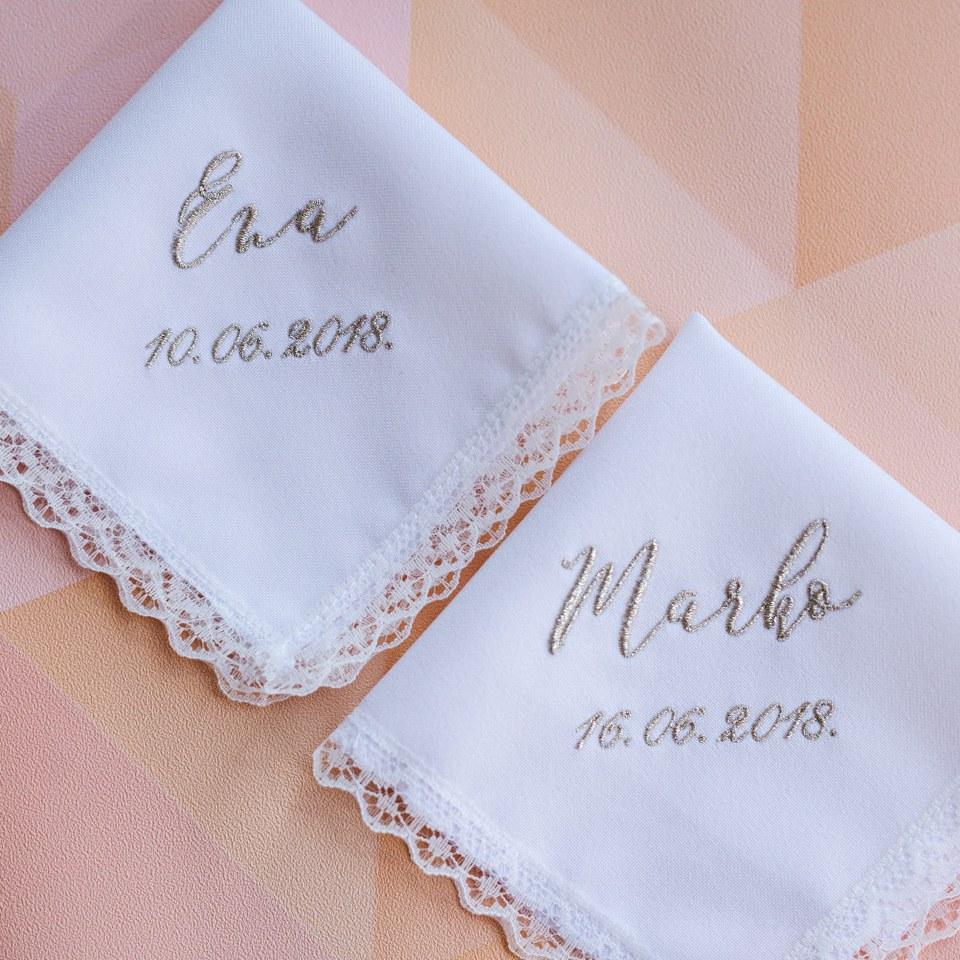 maramica za krštenje imenom i datumom