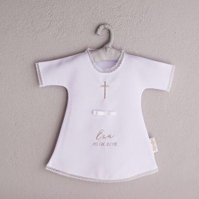košuljica za krštenje sa imenom i datumom