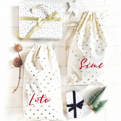 vreća za poklone s imenom